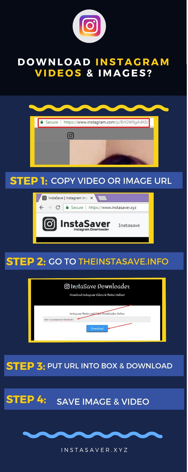 How to Download Instagram Videos & Images without App (PC & Mobile)